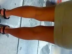 GREEK BEAUTIFUL STREET LEGS,ASS, NICE DRESSED WOMEN