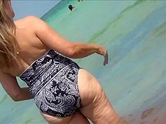 Milf Cellulite Butt