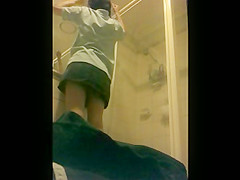 Sister showering 2