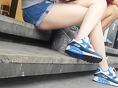 Bare Candid Legs - BCL#086
