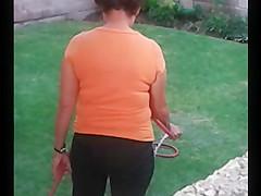 mi vecina y sus calzones