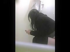 Gordibuena en el wc