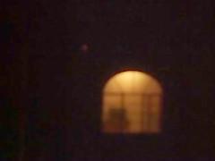 Hot MILF neighbor flashing in the window