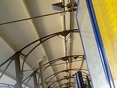 upskirt escalator