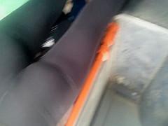 spy sexy teens ass in bus romanian