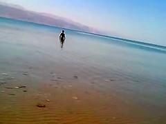 mature women on the Dead Sea