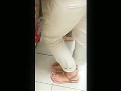 beurette pied