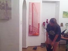 Window Voyeur - spied chubby wife 2-3