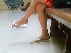 Candid Teen Feet #1