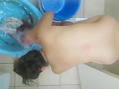 voyeur girl Shower