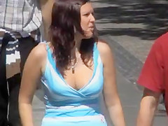 Candid - Busty Bouncing Tits Vol 14