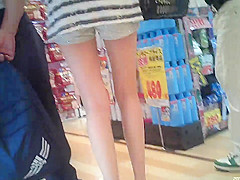 Shorts and beautiful legs