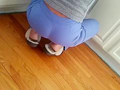 Spycam hot wife ass slow
