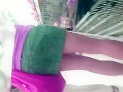mini skirt and nice pantyhose