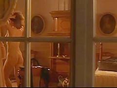 Spying on Lena Olin