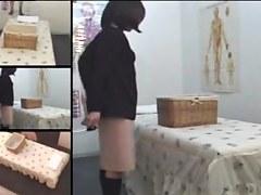 Nice Japanese fingered in spy camera massage video
