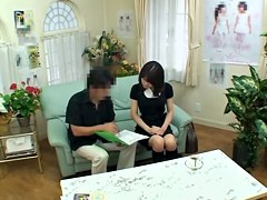 Aoi's wet tunnel of love fucked hard in voyeur porn movie