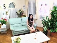 Chiyo has her japanese twat drilled by a horny friend