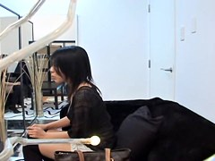 Voyeur film with japanese lesbians who like the taste of bun