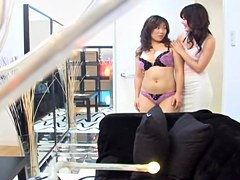 Spy porn movie made by me in which two lesbians act naughty