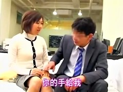 Spy cam sex video with asian cunt plugged very hard by cock