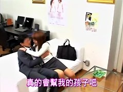 Slut with big pussy is fucked really hard in japanese video