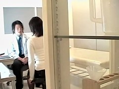 Medical fantasies acomplished in japanese voyeur video