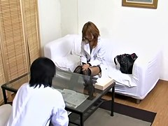 Medical video in which a japanese slut is fucked very hard