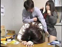 Aki drilled hard by the japanese director in voyeur movie