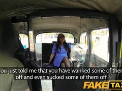 FakeTaxi: Sexually Excited nurse likes a large ramrod
