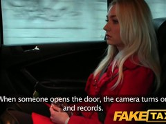 FakeTaxi: Hawt golden-haired gal knows what this babe wishes
