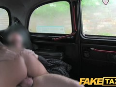 FakeTaxi: Sexy pole dancer with biggest milk sacks caught on camera