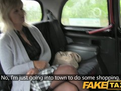 FakeTaxi: Aged blond mamma has the ride of her life