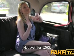 FakeTaxi: Aged golden-haired accepts obscene proposal