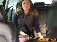 FakeTaxi: I join excited married pair for a astonishing three-some