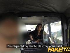 FakeTaxi: Juvenile cutie get to gulp taxi mans cream