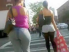 Candid Phat Latina ass in jeans part 2