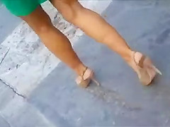 Candid Sexy Heels
