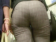 spanish candid big ass in tight trouser