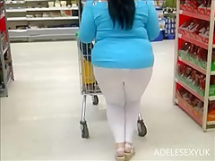 white seethrough legging