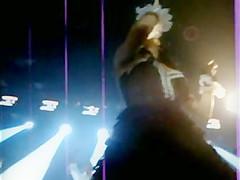 Romanian Singer Inna Upskirt in Concert