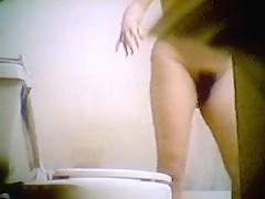 Hidden cam - Pregnant woman in shower