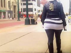 Big Ass Skirt SpandExxx Booty