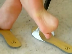 Shoe Play And Dangling 1