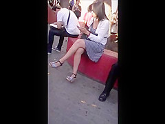 Candid feet 8 and 9