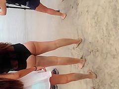 Beach ass everywhere