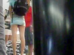 mini skirt bus station