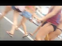 Voyeur'd beach asses
