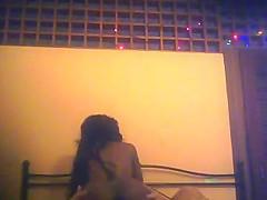 Venezuelan girl fucked - (spycam was too high..)