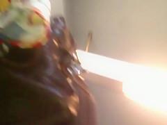 Upskirt Escalator 27 - Blond Milf Nice Red Panties